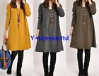 Casual Women Autumn Winter Preppy Style A line Mini Dress Knitted Top Blouse 828