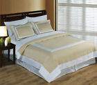 Wrinkle Free Egyptian Cotton Hotel Linen/White Duvet Cover Set