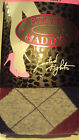 Womens Steve Madden Brand Sweater Knit Footed Tights Diamond Design Size S/M M/T