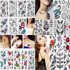 10 Sheets Sexy Body Art Stickers Removable Waterproof Temporary Tattoo Sticker