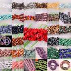 Mixed Natural Malachite Crystal lapis Agate Amethyst Opal Chip Loose Beads 35""