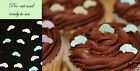 edible cars, cake decoration pink, blue, white, green, yellow *4th set free*
