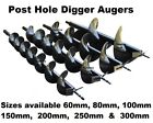 Post Hole Digger Earth Augers 60 80 100 120 150 200 250 300 Drill Twin Blades