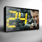 24 TV SHOW GICLEE CANVAS WALL ART PRINT *Choose your size