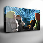 FAMILY GUY STAR WARS WARP SPEED GICLEE CANVAS WALL ART PRINT *Choose your size
