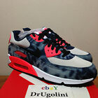 Nike Air Max 90 DNM QS 8 13 navy infrared Bleached Denim AUTHENTIC SHIPPING NOW