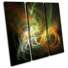 Funky Design Abstract TREBLE CANVAS WALL ART Picture Print VA