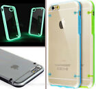 Transparente Glow Silikon Ultra Thin Case Hülle für iPhone 6 4.7 ""