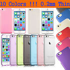 Ultra Thin 0.2MM Crystal Frosted Transparent Case Cover New Apple iPhone 6 4.7