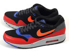 Nike Air Max 1 Essential 2014 Classic Casual Black/Hyper Crimson-Red 537383-017