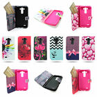 For LG G3 (2014) - Magnetic Flip Wallet Phone Cover Case with Wristlet Strap