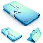 Card Pocket Fold Wallet Pouch Leather Stand Cover Gel Case Shell Cell Phone