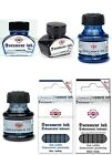 Koh-I-Noor Permanent Important Document Ink. Bottle or Cartridges Blue or Black