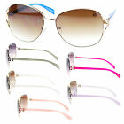 Golden Bridge Womens Butterfly Hinge Designer Fashion Diva Aviator Sunglasses