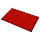 "Evideco Bamboo Mat Anti Slippery 31.5l X 20""w solid colors Bamboo Rug"