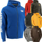 Caterpillar Sweatshirt Mens CAT Zipper Hooded Fleece Zip Jacket W10840 Sweater