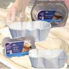 20 RECTANGLE OVAL BREAD LOAF TIN CAKE CASE DISPOSABLE PAN LINER BAKING 1lb 2lb
