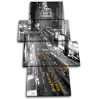 New York Taxi Cabs City MULTI CANVAS WALL ART Picture Print VA
