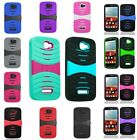 For Alcatel One Touch Fierce 2 7040T Arch Hybrid Stand Multi Color Cover Case