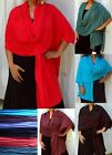 Large Luxury Jersey Scarf Pareo Wrap one size choose colour great gift