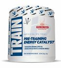 Train by VMI Sports - Pre-Workout Strength & Endurance Supplement (32 Servings)
