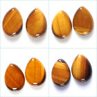 30mm Two golden tiger eye teardrop cab cabochon Each item pictured