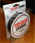 YO-ZURI HYBRID Fluorocarbon Fishing Line 275yd SMOKE COLOR NEW! PICK YOUR SIZE