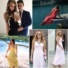 Ever Pretty Womens V-neck Long Bridesmaid Formal Evening Party Prom Dress  08110