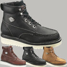 Harley Davidson Boots Mens Beau Shoes Moc Toe Inside Zipper Leather Boot Color