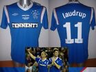 Rangers LAUDRUP Legends S & M BNWT Umbro Football Soccer Jersey Shirt Trikot Top