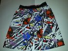 Boys Joe Boxer Brand White Black red blue Swim Trunks Skulls Bolts 6/7 8 10/12