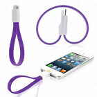 Magnet Magnetic Flat USB 2.0 Sync Data Charger Cable for i Phone 5 5S 6 6S Plus