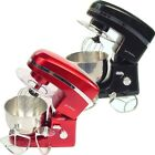 Jack Stonehouse Food Mixer 3 Mixer Blades, Large Stainless Mixing Bowl 2 Colours