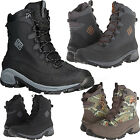 Columbia Boots Men Bugaboot Waterproof Lace up Snow Winter Insulation Black Camo