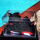 Luxury Acrylic Sneaker Display Box - 100% Clear - Showcase Box - 360° angle view