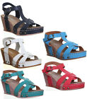 Womens Ladies Light Weight Comfort Strappy Sandal Beach Casual Evening