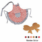 New Child's Princess Apron Kid's Baking Party Kitchen Cook + Hair Holder