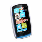 TPU Gel Soft Case Back Cover Skin For Nokia Lumia 610 RM-835 +Stylus R