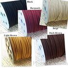 5m Micro Suede String Cord 3mm Jewelry Making