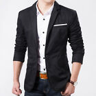 SF1061 New Fashion Men's Casual Suits Slim Fit Classic Jackets Coats