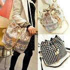 New Fashion PU Leather Women Shoulder Messenger Tote Bag Handbag Purse Satchel