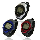 SSG Unisex Water Resistant Sport Pulse Heart Rate Monitor Calorie Counter Watch