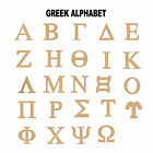 "Внешний вид - 6"" Greek Letter Unfinished MDF Wood Cutout Fraternity or Sorority USA Made"