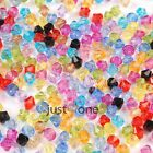 500pcs/set 6MM Bling Acrylic Swarovski Crystal Bicone DIY Accessary Charm Beads
