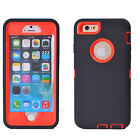 Shockproof Hard Protective Hybrid Case Cover For Apple iPhone 6 6S 4.75.5 Plus