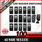 ROCKER SWITCH ARB CARLING STYLE DUAL BACKLIT  LED ON-OFF 4X4 *AUSTRALIAN STOCK*