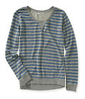 Aeropostale Womens Weathered Stripe Graphic T-Shirt