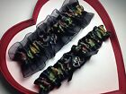NEW ARMY Camouflage Black Hunting Wedding Garter GetTheGoodStuff Prom Camo