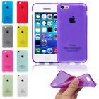 Transparent Crystal Clear Ultra Soft TPU Back Case Cover For Apple iPhone 5C
