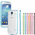 TPU Clear Rubber Gel Transparent Case Cover for Samsung galaxy cell phone
